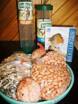 Bird feeder starter packs available